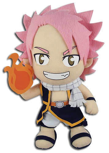 Fairy Tail - S3 4Th Key Art Natsu Plush 8