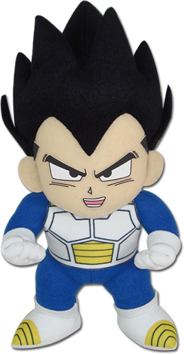 Dragon Ball Z - Vegeta Power Up Plush officially licensed Dragon Ball Z Plush product at B.A. Toys.