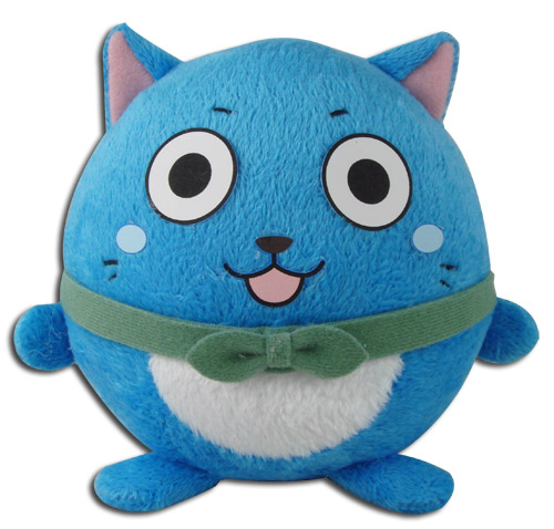 Fairy Tail - Happy Ball Plush 4'', an officially licensed product in our Fairy Tail Plush department.