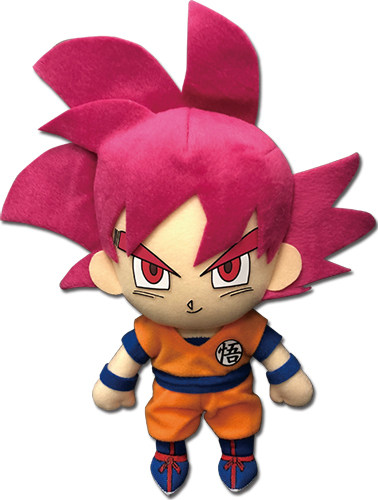Dragon Ball Super - Ssg Goku 01 Plush 8