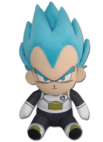 Dragon Ball Super - Ss Vegeta 01 Sitting Pose Plush 7