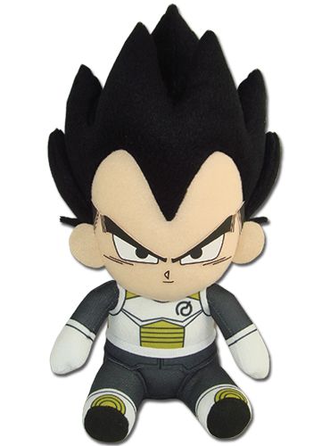 Dragon Ball Super - Vegeta 01 Sitting Pose Plush 7