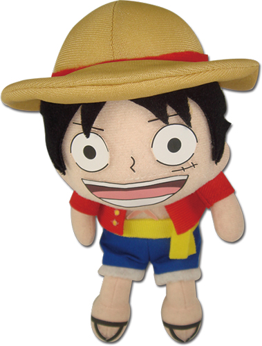 One Piece - Luffy New World Pinched Plush 5.5'' officially licensed One Piece Plush product at B.A. Toys.