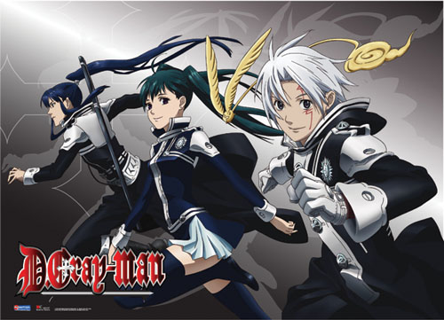 D Gray Man Crew Wall Scroll, an officially licensed D.Gray-Man product at B.A. Toys.