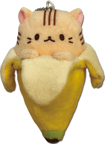 Bananya - Tora Bananya Plush 5, an officially licensed Bananya product at B.A. Toys.