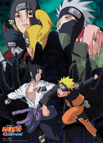 Naruto Shippuden Naruto Vs. Sasuke Wall Scroll, an officially licensed product in our Naruto Shippuden Wall Scroll Posters department.