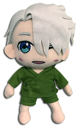 Yuri!!! On Ice - Victor Yukata Clothes Plush 8''H, an officially licensed product in our Yuri!!! On Ice Plush department.