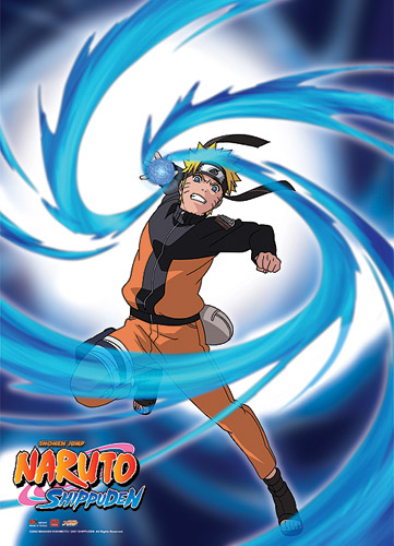 Naruto Shippuden Naruto Rasengan Wall Scroll, an officially licensed product in our Naruto Shippuden Wall Scroll Posters department.