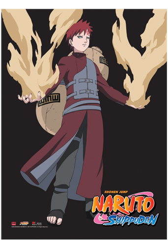 Naruto Shippuden S Gaara Wall Scroll, an officially licensed product in our Naruto Shippuden Wall Scroll Posters department.