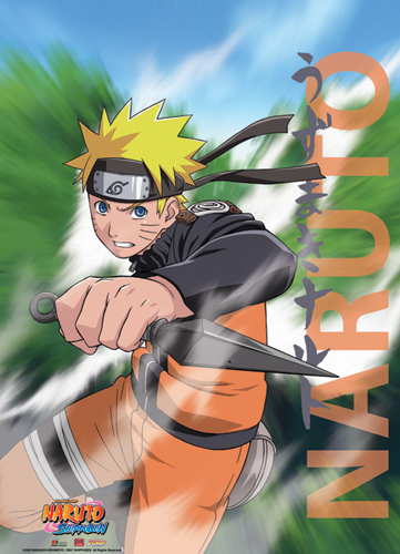 Naruto Shippuden Naruto Wall Scroll, an officially licensed product in our Naruto Shippuden Wall Scroll Posters department.