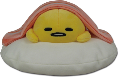 Gudetama - Gudetama & Bacon Plush 2, an officially licensed product in our Gudetama Plush department.