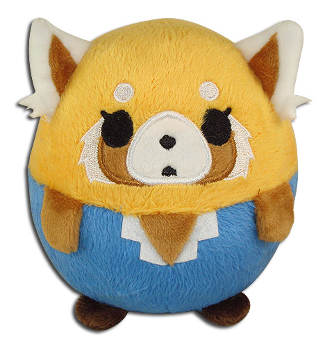 Aggretsuko - Retusko 01 Ball Plush 4, an officially licensed Aggretsuko product at B.A. Toys.