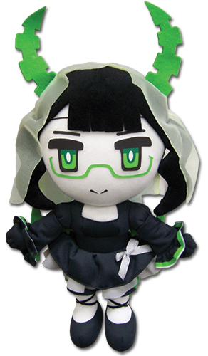Black Rock Shooter - Dm Plush 8'', an officially licensed Black Rock Shooter product at B.A. Toys.