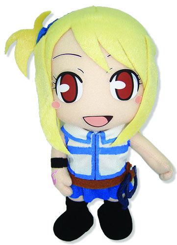 Fairy Tail Luck Plush officially licensed product at B.A. Toys.