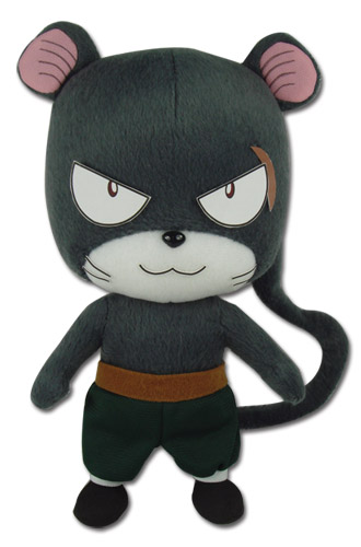 Fairy Tail - Lily Plush officially licensed product at B.A. Toys.