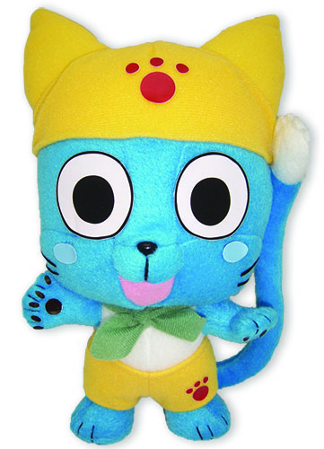 Fairy Tail Happy In Yellow Plush officially licensed product at B.A. Toys.
