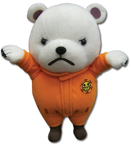 One Piece - Bepo Plush 8'', an officially licensed product in our One Piece Plush department.