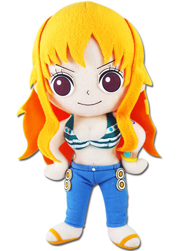 One Piece - Nami Plush 8'', an officially licensed product in our One Piece Plush department.