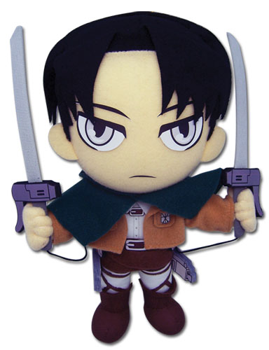 Attack On Titan - Levi Plush, an officially licensed Attack on Titan Plush