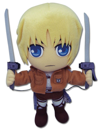 Attack On Titan - Armin Plush, an officially licensed product in our Attack On Titan Plush department.