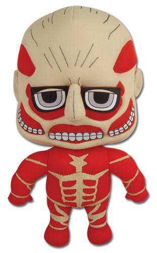 Attack On Titan - Titan Plush 8'', an officially licensed product in our Attack On Titan Plush department.