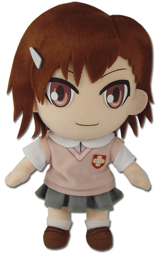 A Certain Scientific Railgun - Mikoto Plush 8'', an officially licensed product in our A Certain Scientific Railgun Plush department.