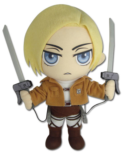 Attack On Titan - Annie Plush, an officially licensed product in our Attack On Titan Plush department.