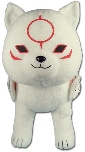Okami -den - Chibiterasu Plush 12'' officially licensed Okamiden Plush product at B.A. Toys.