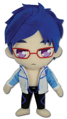 Free! - Rei Plush officially licensed product at B.A. Toys.