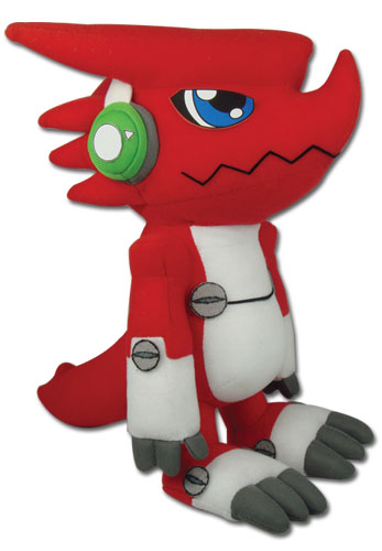 Digimon - Shoutmon Plush 10'' officially licensed product at B.A. Toys.