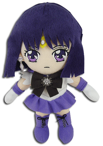 Sailor Moon S - Sailor Saturn Plush 8'', an officially licensed product in our Sailor Moon Plush department.