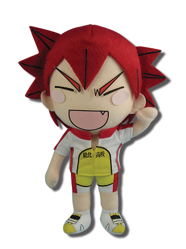 Yowamushi Pedal - Naruko Plush 8''H, an officially licensed product in our Yowamushi Pedal Plush department.