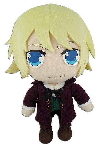 Black Butler 2 - Alois Plush 8'' officially licensed Black Butler Plush product at B.A. Toys.
