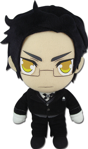 Black Butler 2 - Claude Plush 8, an officially licensed Black Butler product at B.A. Toys.