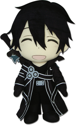 Sword Art Online - Kirito Plush 18'', an officially licensed product in our Sword Art Online Plush department.