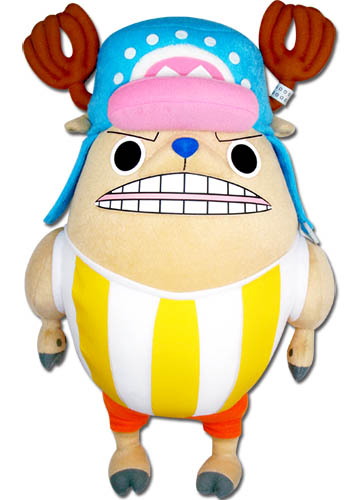One Piece - Chopper Kung Fu Point Plush 14'' officially licensed One Piece Plush product at B.A. Toys.