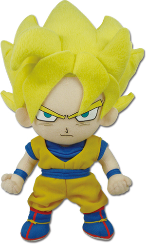 Dragon Ball Z - Super Saiyan Goku Plush 8'' officially licensed Dragon Ball Z Plush product at B.A. Toys.