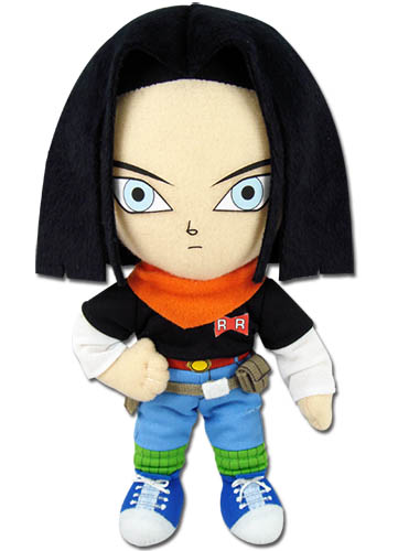 Dragon Ball Z - Android #17 Plush 8'' officially licensed Dragon Ball Z Plush product at B.A. Toys.