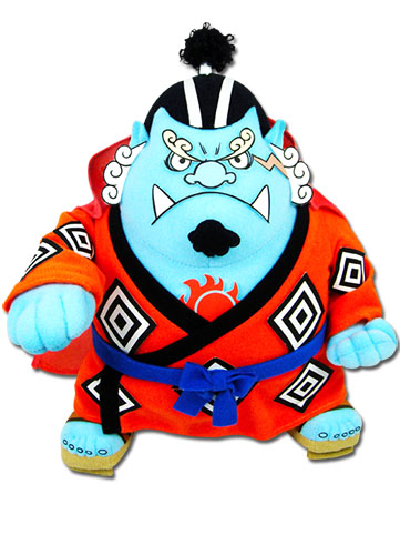 One Piece - Jinbe Plush 8''h officially licensed One Piece Plush product at B.A. Toys.