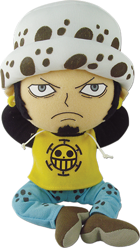 One Piece - Law Plush 8'', an officially licensed product in our One Piece Plush department.