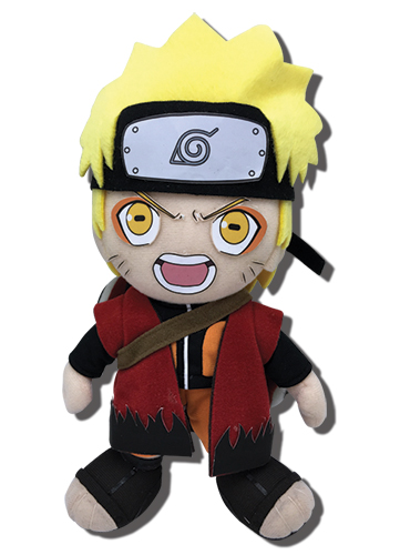 Naruto Shippuden - Naruto Sage Mode Plush 8'', an officially licensed product in our Naruto Shippuden Plush department.