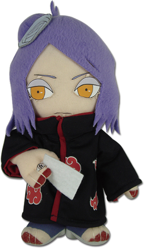 Naruto Shippuden - Konan Plush 8'', an officially licensed product in our Naruto Shippuden Plush department.