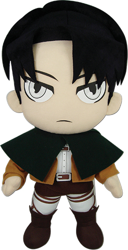 Attack On Titan - Levi 18 Plush, an officially licensed Attack On Titan product at B.A. Toys.