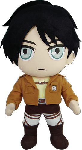 Attack On Titan - Eren 18'' Plush, an officially licensed product in our Attack On Titan Plush department.
