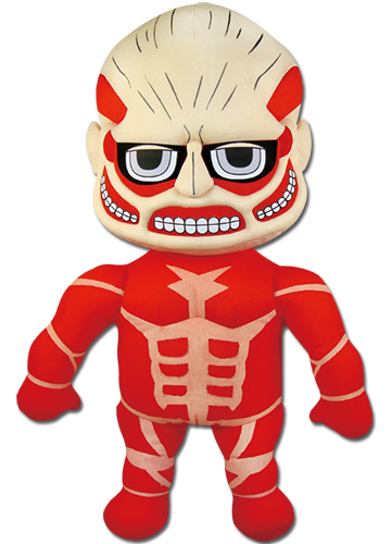 Attack On Titan - Titan Plush 18'', an officially licensed product in our Attack On Titan Plush department.