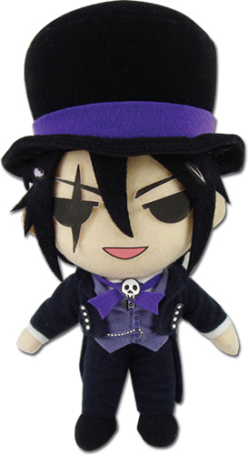 Black Butler Boc - Sebastian Michaelis Plush 8'', an officially licensed product in our Black Butler Book Of Circus Plush department.