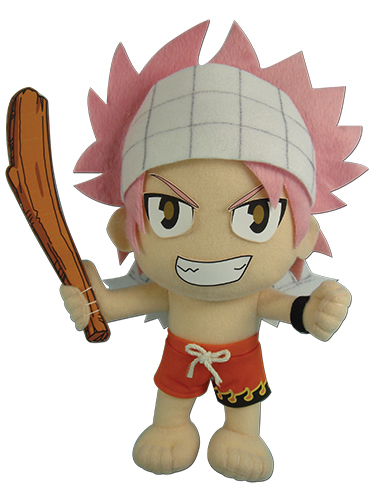 Fairy Tail - Natsu Swimsuit Plush 8''H, an officially licensed product in our Fairy Tail Plush department.
