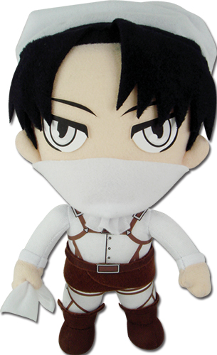 Attack On Titan - Levi Plush 8, an officially licensed Attack On Titan product at B.A. Toys.