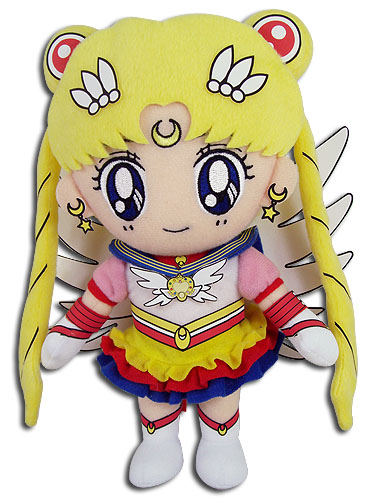 Sailor Moon - Eternal Sailor Moon Plush 8''H, an officially licensed product in our Sailor Moon Plush department.