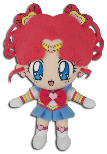 Sailor Moon Stars - Sailor Chibichibi Moon Plush 8'', an officially licensed product in our Sailor Moon Plush department.